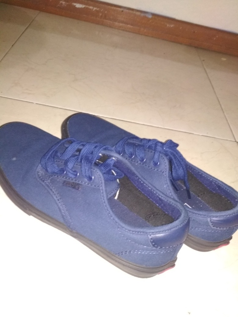 Zapatos Vans Azules -   25.500 en Mercado Libre f58ace381c2