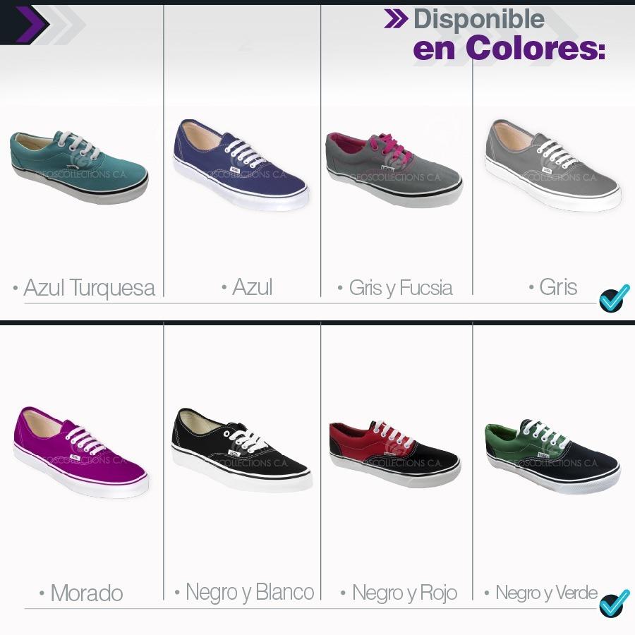Zapatos Vans De Dama Y Caballero Al Mejor Precio Del Mercado - Bs ... 268708d7eb9