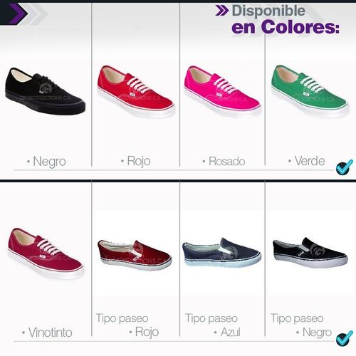 zapatos vans de dama y caballero al mejor precio del mercado