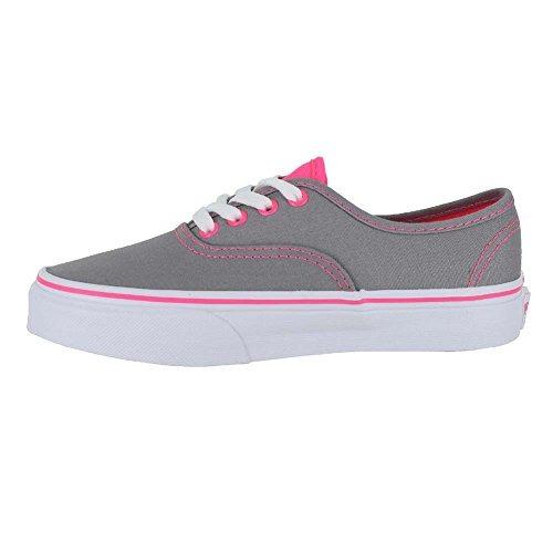 vans grises con rosa