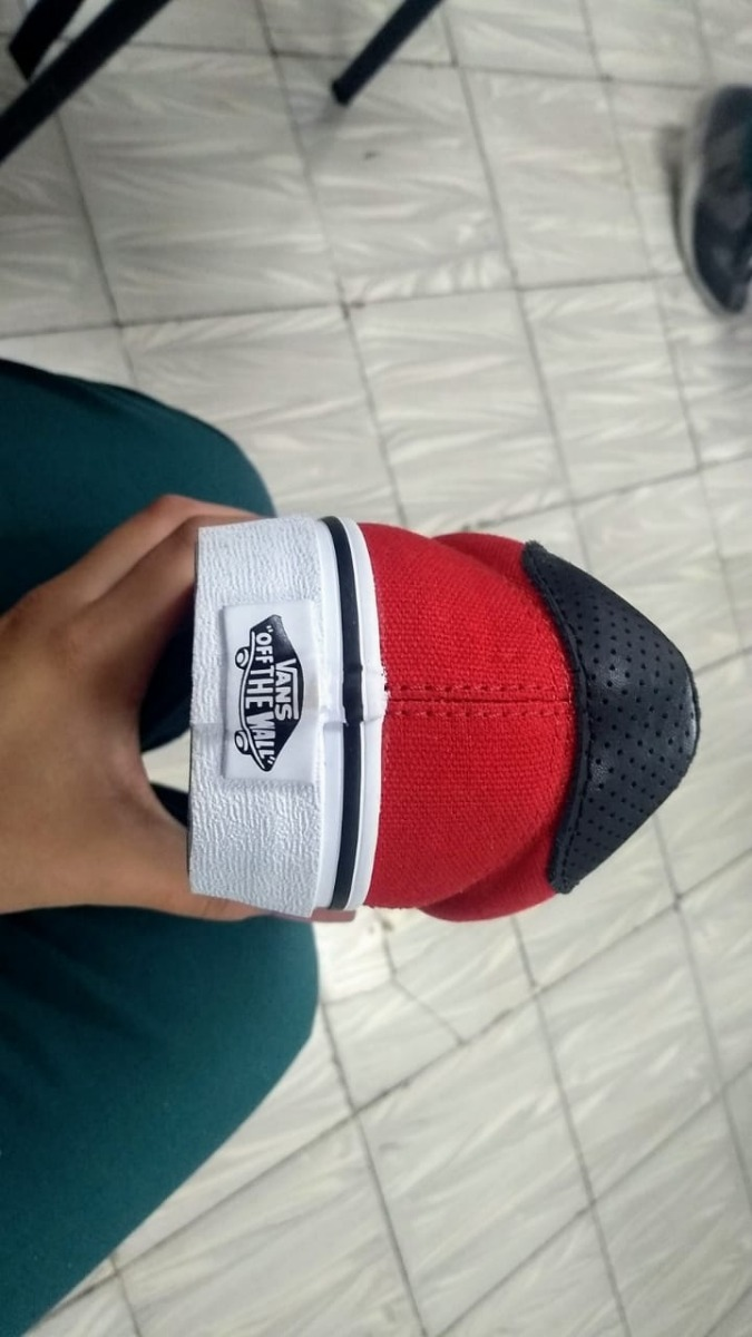 Zapatos Vans Rojos Originales Nuevos -   100.000 en Mercado Libre 0bd0dd5ea85