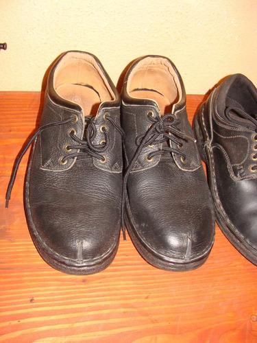 zapatos varón negro  nº45 - nuevos -capellada -cuero