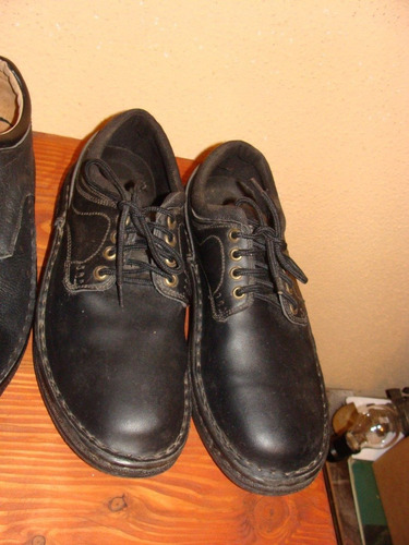 zapatos varón negros  nº45 - nuevo -capellada cuero