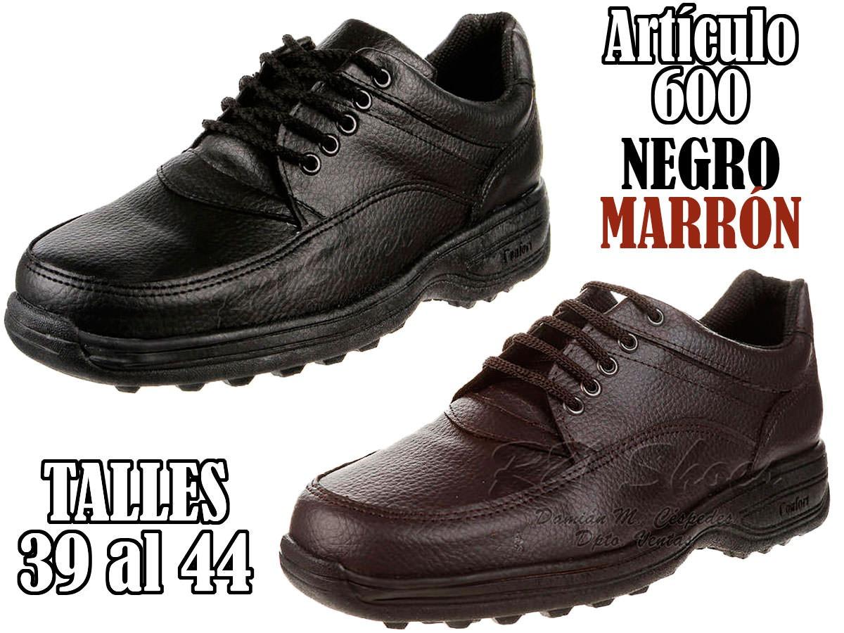 c80bdd2e2e zapatos vestir confort hombre modelo reforzado negro marrón. Cargando zoom.
