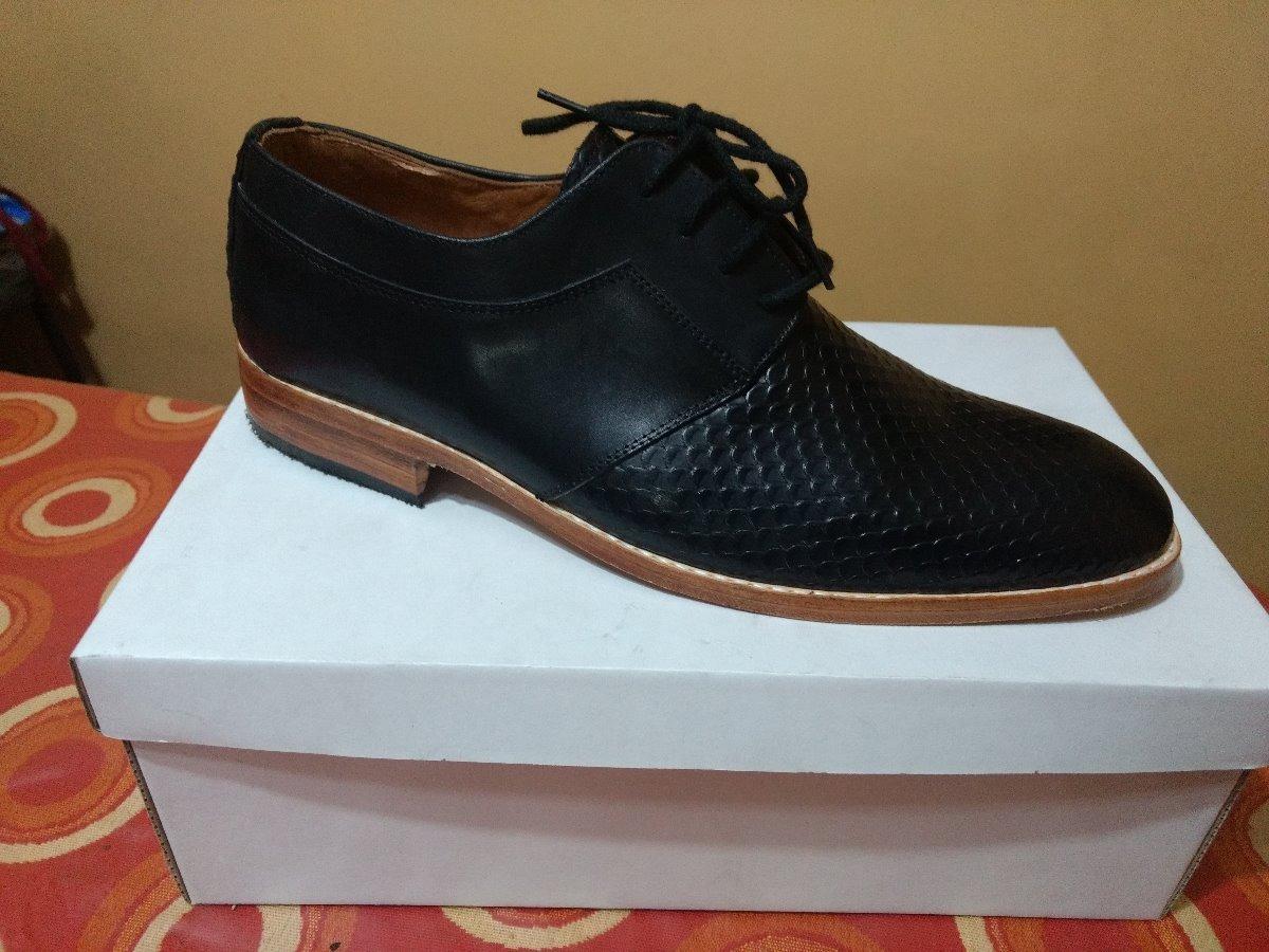 0342a55c Zapatos Vestir Hombre Fabrica Cuero Real Suela Colores - $ 1.925,00 ...