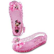Sandalias Minnie Mouse Alumbrar Original Disney Exclusivas
