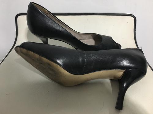 66e591fd zapatos stilettos boca de pez marca via uno numero 36. Cargando zoom... zapatos  via uno
