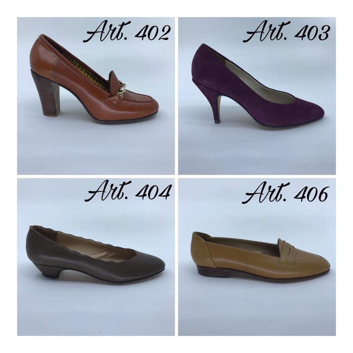 Zapatos Vintage 34 Talle Legitimo Lote Cabritilla Cuero zpGqVUMS