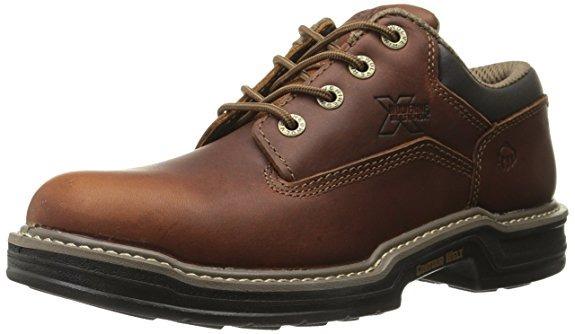Industrial Wolverine Zapatos Oxford Work Trabajo Piel Welt wgOXAqv 90980679e49