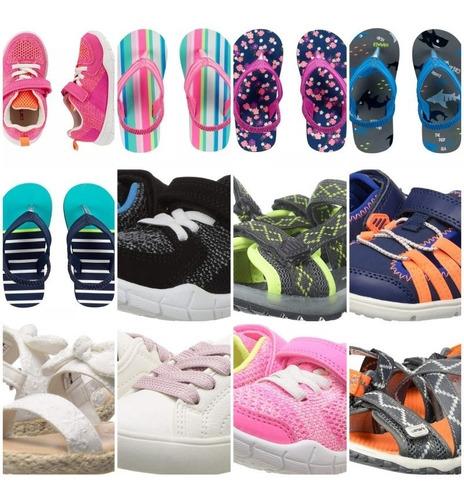 zapatos y sandalias carters, adidas, oshkosh, etc