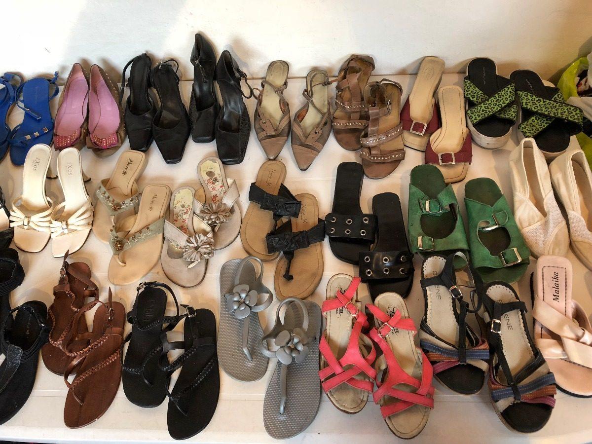 84ce6468 Zapatos Y Sandalias De Mujer Usados Talles 34-35-36-37-38-39 - $ 10 ...
