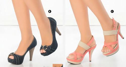 zapatos y sandalias mujer