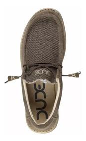 fe44870fe Zapatos Zapatillas - Shoes Hey Dude Wally Mat Choco For Men
