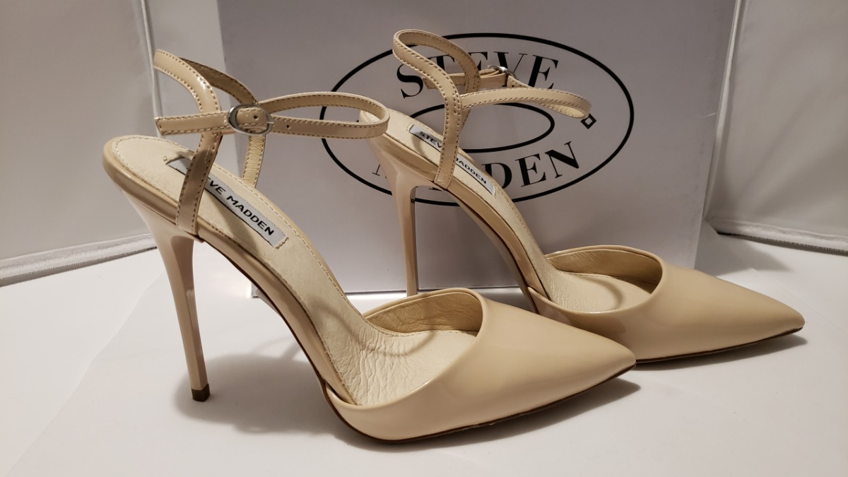 aba68820d96 zapatos zapatillas tacones steve madden fantasia pewter nude. Cargando zoom.
