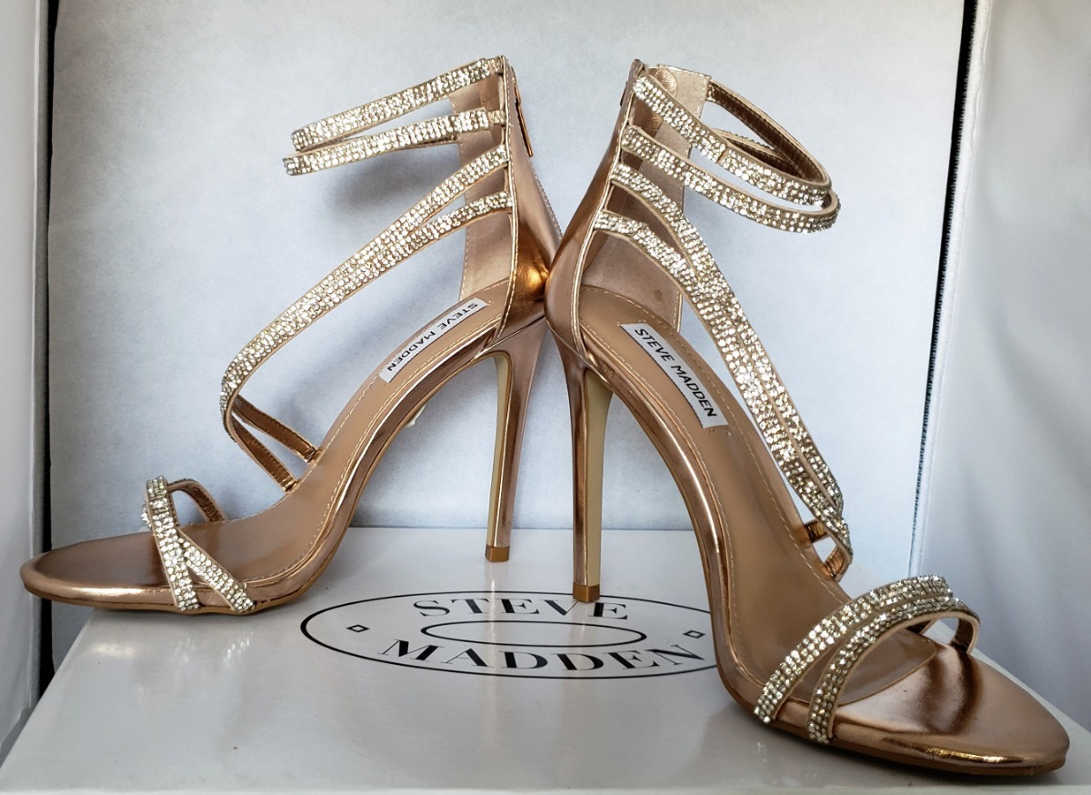 8631df867c3 zapatos zapatillas tacones steve madden sweetest rose gold. Cargando zoom.