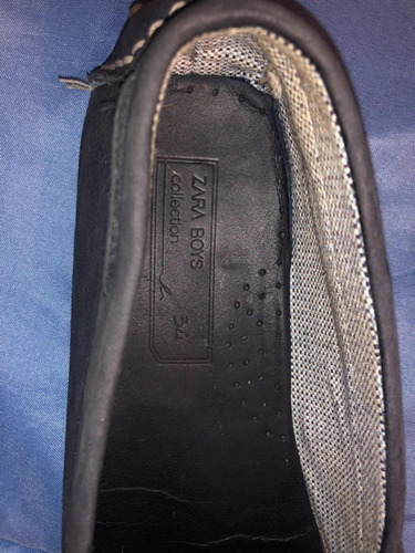 zapatos zara boys niño 34