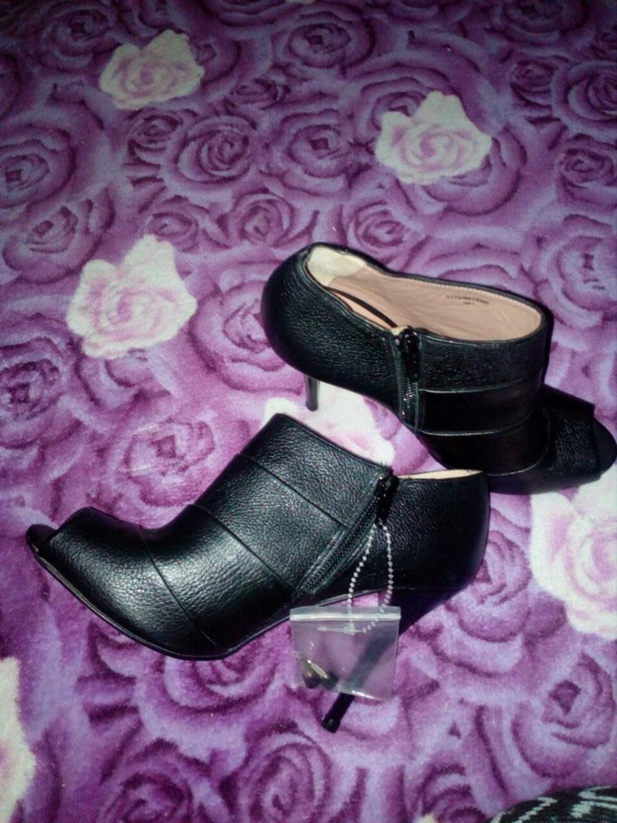 00 Nuevos Botin Pisar Negros Sin 550 Zara 24 Talla Zapatos Tipo pIT1vprw