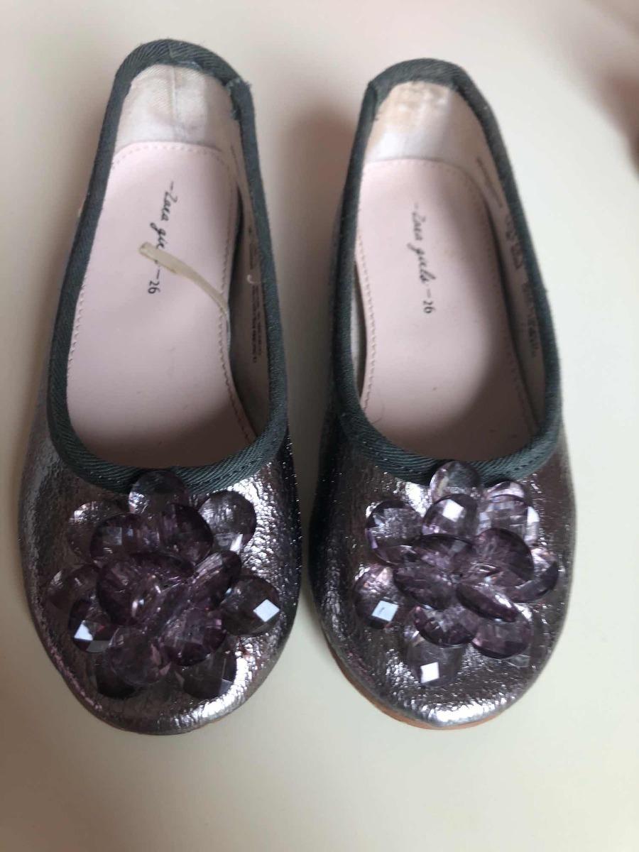 Niñas Gris Color Zoom Zapatos Zara Cargando Metálico Pq5ttvxwf 64b2b142a12e