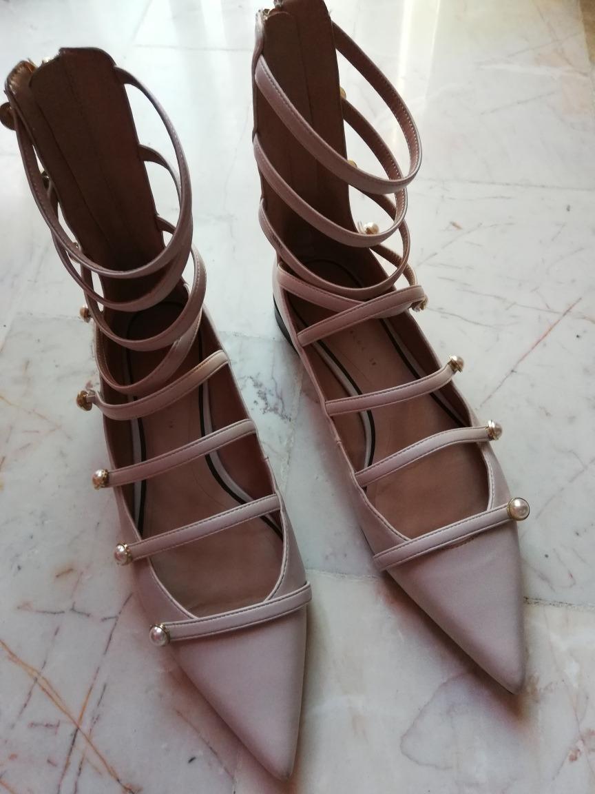 Zoom Fggyqa Zapatos Zara Cargando Pulseras Color Nude 8zxdq8fY ddbfdf1f9334
