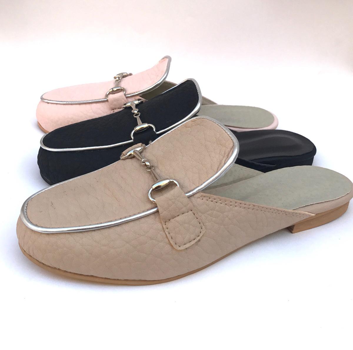 Mercado 545 2018 49 Libre Zapatos Mujer Moda Nude En Zueco xwO6Uq1