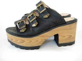 f746455ec10 Sandalias Negras Gacel - Vestuario y Calzado en Mercado Libre Chile