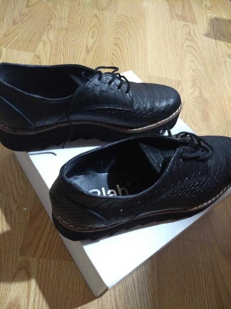 92c3ac64 Zapatos/mocasin Mujer Plataforma Con Cordones - $ 800,00 en Mercado ...