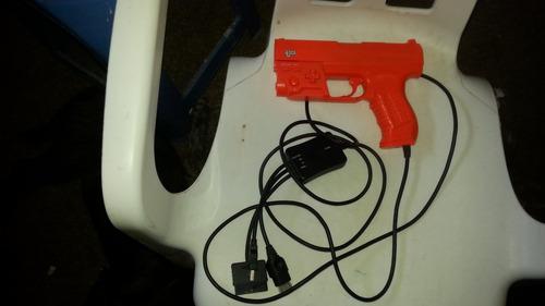 zapper lightgun para repuesto ps1 ps2 xbox pc