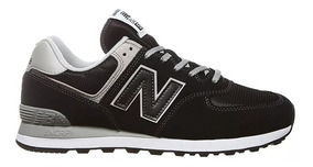 new balance 574 negra y gris