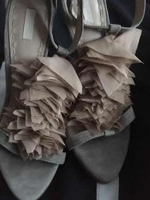 06dd2bac Sandalia Dama 2017 - Sandalias Zara para Mujer Marrón en Mercado ...