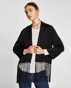 gran descuento dad8e b3a13 Kimono Mujer Zara - Saquitos, Sweaters y Chalecos en Mercado ...
