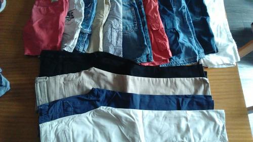 zara hush puppies facheritos bermudas pantalones t 4-7años