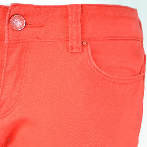 zara pantalones naranja 26