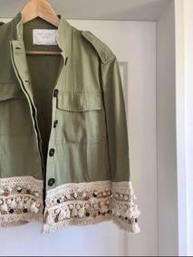 ropa deportiva de alto rendimiento comprar oficial cupón doble Campera Verde Militar Zara - Ropa y Accesorios de Mujer en ...