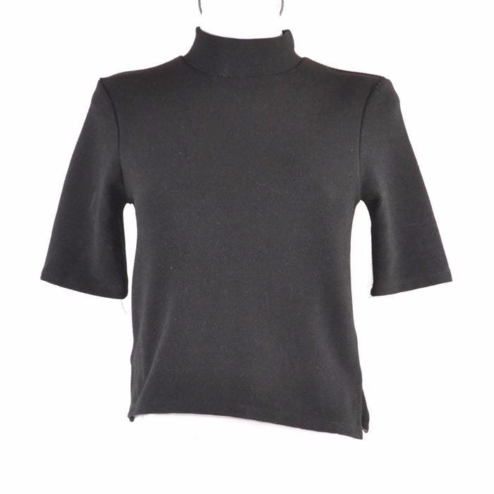 87f69277612fb Zara Trafaluc Blusa Negra Basica S -   250.00 en Mercado Libre