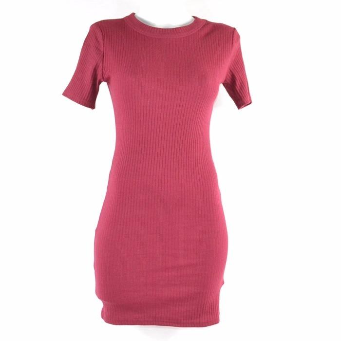 Vestido Vino Tubo Libre Corte Mercado Trafaluc En Zara S305 00 MSUGjLzVqp