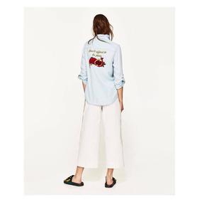 edc6f3f0a Camisas De Jeans Bordadas - Ropa y Accesorios en Mercado Libre Argentina