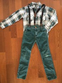 e27133b92 Zara Varon Talle 5 A 6 Años Pantalon Con Tiradores Camisa