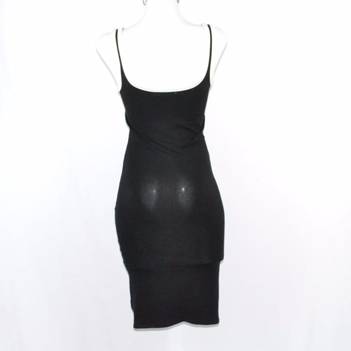 Negro Largo Zara Vestido 00 Msrp950465 S KcJT1Fl
