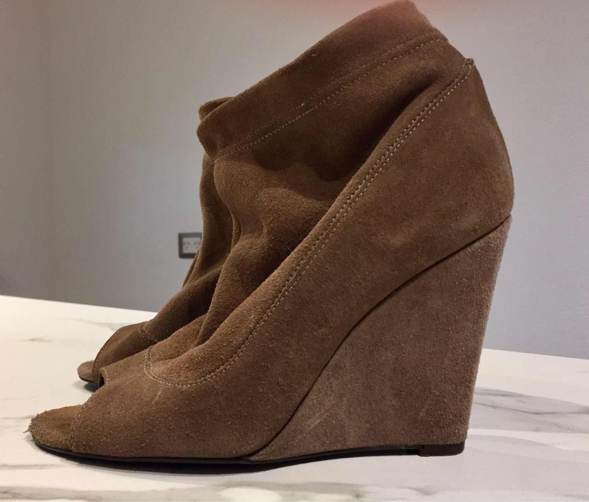6abbeb78 Zara Zapatos Zueco De Gamuza Color Piel 38 - $ 999,00 en Mercado Libre