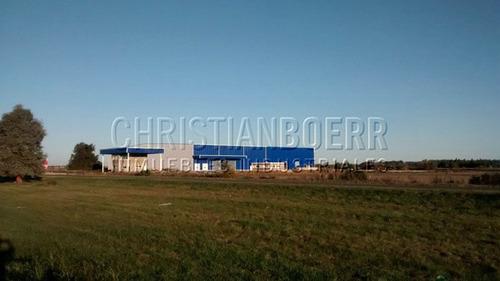 zárate, centro distrib 4.200m² a estrenar sobre panamericana