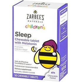 Zarbee's Children Sleep Melatonin (50 Tabletas)