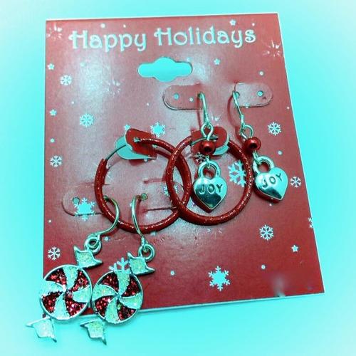 zarcillo navidad ear cuff fiesta mujer angel midi regalo paz