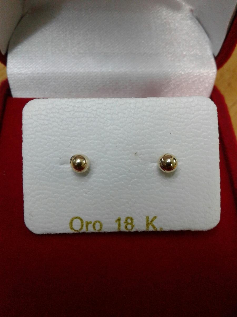 099f57c0ccfb zarcillos abridores para bebe de oro 18kl. Cargando zoom.