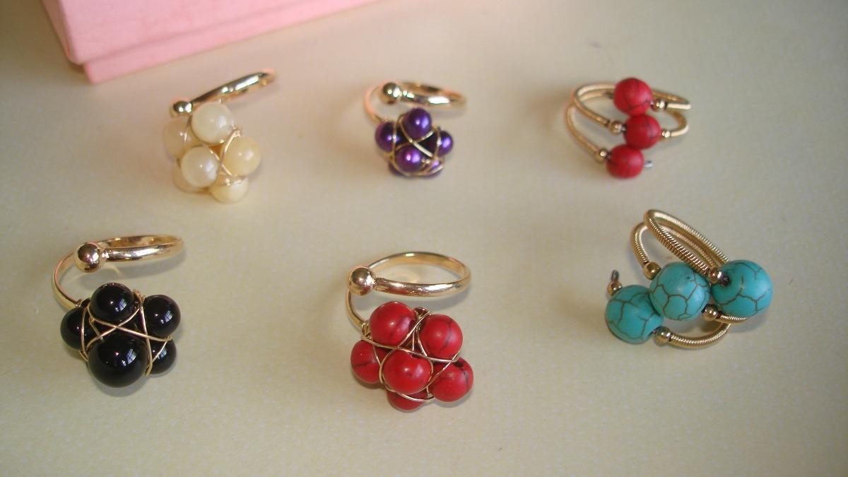 zarcillos, anillos, pulseras, oro laminado 14k, bisuteria