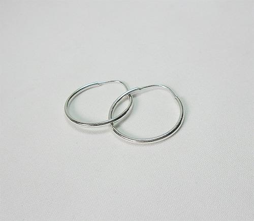 zarcillos argollas de plata 925 excelente calidad