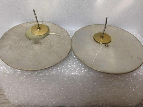zarcillos circulares diseño calado artesanal hechos en metal