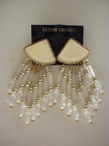 zarcillos de fantasía - fashion earrings. único disponible