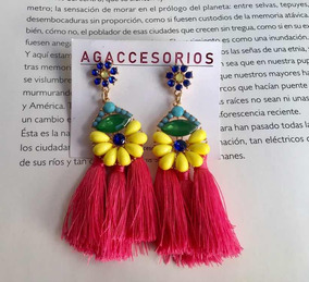 9b2e9bd2b1bd Zarcillos Accesorios De Moda Para Dama en Mercado Libre Venezuela