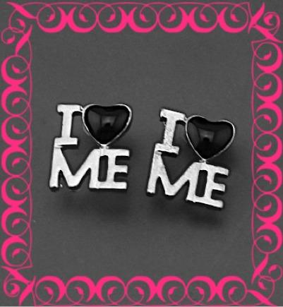 zarcillos i love me amor bff amistad moda kylie mujer estilo