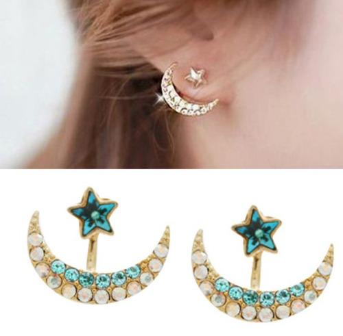 zarcillos luna estrella game of thrones moda mujer fashion